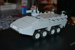 Buffallo Prototype (Sir Homefry) Tags: army buffalo lego military wheeled apc