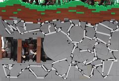 Unobserved Infiltration - Dwarves (mpoh98) Tags: lego mining goh dwarves elves