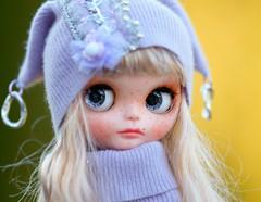 DSC02Blythe angora embroidery hat