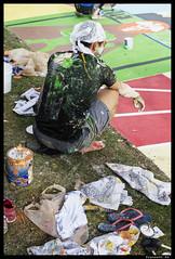 10 (Praneeth Rajsingh) Tags: street color fight paint university painted photojournalism documentary social iowa pj drake raj desmoines singh d610 praneeth 5018g praneethrs praneethrscom