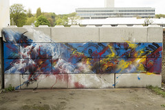 Eyes-B/ Brussels 2016 (EYES-B // http://www.eyesb.be) Tags: brussels terrain color art wall graffiti freestyle lego belgium belgique tag bruxelles squat tsunami graff mur couleur graffeur lgo nhr eyesb