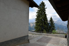 Prealpi da lontano (lucapando) Tags: panorama alberi santuario prospettiva sanlucio