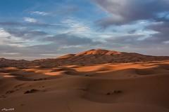 Desert Sunrise (Algol69) Tags: sky clouds sunrise nuvole desert alba morocco cielo marocco deserto sabbia