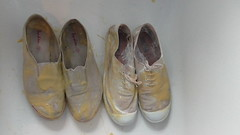 Gunging of the Boden slip-on plimsolls (eurimcoplimsoll) Tags: shoes sneakers canvas gym elastic gunge slipon plimsolls plimsoles