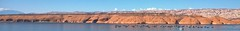 IT IS YOUR LIGHT THAT SHINES THE WORLD (Irene2727) Tags: blue panorama nature water clouds landscape boats utah pano houseboat redrock scape brilliant watercraft lakepowell bullfrogmarina