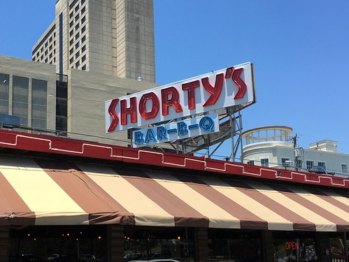 Shorty's Bar-B-Q Neon Sign