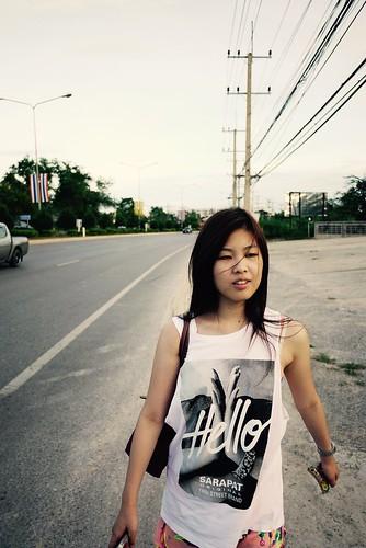 Hitchhiking in Hua Hin