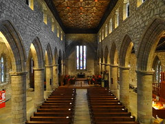 St Machar's Cathedral (Ian Jackson 1974) Tags: light history church century scotland cathedral religion scottish medieval aisle aberdeen inside 13th pews 2016 stmacharscathedral