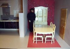 LaurenLand House 7 of 7 (suekulec) Tags: scale furniture room dining 16 diorama pedigree sindy