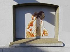streets of brighton (maximorgana) Tags: street shadow orange art love brighton tie romance moustache suit actress actor marcelo sophia inlove lore mastroianni theperfectcouple mastroiani