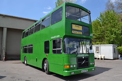 Cotswold Green N429FKK (Will Swain) Tags: county uk travel ireland england dublin west bus green english buses yard britain garage south country transport may cotswolds vehicles vehicle depot former stroud 8th cotswold nailsworth 2016 n429fkk ra260 96d269