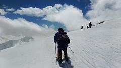 Ski your way ! (Debmalya Mukherjee) Tags: mountain snow ski gulmarg jammuandkashmir debmalyamukherjee motog3