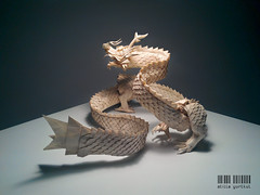 Ryujin 3.5 (dargelirli) Tags: origami dragon 35 satoshi atilla ryujin kamiya yurtkul