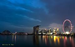 The blue hours (melvhsc100) Tags: landscape outdoor architecture sky sea lights colours nikon wideangle