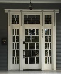 Craftsman Doorway. 1178 Josephine St. New Orleans, Louisiana. (JRR2000) Tags: door neworleans doorway craftsman transom sidelight craftsmanstyle