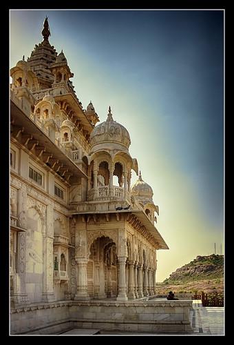 Jodhpur IND - Jaswant Thada 04