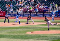 Pick Off (rg69olds) Tags: omaha nebraska baseball canon canondigitalcamera canoneos6d canonef70200mmf28lisiiusm pickoff 6d 06052016 stormchasers runner pitcher umpire