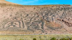 Geoglifos de Chiza (Andres Puiggros) Tags: chile red verde green yellow blood earth laguna amarilla roja arica camarones camia