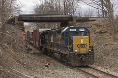 WS-2 Ducking Under NJT in Saddle Brook (sully7302) Tags: railroad cn train central nj trains amtrak transit penn locomotive erie cp ge lackawanna csx emd