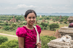 Portrait of a girl at Bagan, Myanmar (ReinierVanOorsouw) Tags: reizen myanmar birma burma travelling travel travelstoke reiniervanoorsouw sony sonya7r sonya7rii a7rii asia asya azie mandelay mandalay people human asian asianpeople inasia azi travels undiscovered colour colours