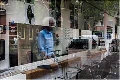 reflectie (Marcel Kramer K5) Tags: mirror pentax spiegel barbershop alkmaar reflectie kapper marcelkramer fotoclubalkmaar