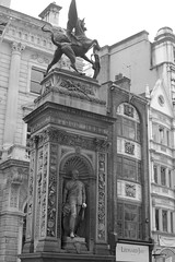 Statue of Prince of Wales on the Temple Bar Memorial on the Strand (IanAWood) Tags: urban cityscapes centrallondon walkingwithmynikon nikondf nikkorafs58mmf14g