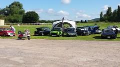 2 B Retro set up (Five Valleys Mini Club) Tags: mini cheltenham racecourse