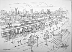 Intermodal-Rural-Town-CityGIF (Backbone Campaign) Tags: solutionaryrail railelectrification backbonecampaign climatechange bomb trains solutions transportation sustainability renewable energy