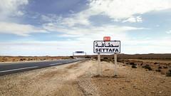 Settafa  (habib kaki 2) Tags: sahara algeria algerie panneau sud dsert    laghouat rn1    settafa