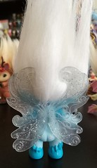frostelle wings (meimi132) Tags: zelfs zelf series6 cute adorable trolls frostelle ice frost frosty blue frozen wings