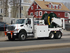 International Workstar (JLaw45) Tags: road street new england urban usa white boston america work power state metro massachusetts united duty north newengland utility cable international lorry american commercial wires area electricity vehicle metropolis states mass heavy northeast metropolitan beantown nstar workstar eversource