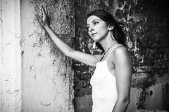 Touch my soul ... (alessandrafinocchiaro67) Tags: portrait woman white black monochrome beautiful beauty open fx nicefeelings nikond750