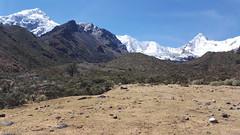 Pucaranra 6156 m. & Tullparaju 5787 m.