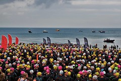 lcw3 (fourcroft) Tags: sport long weekend course northbeach tenby triathlons seaswimming walesswim