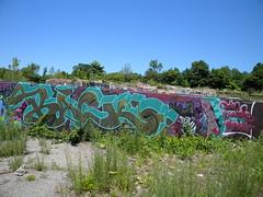 Back (Randall 667) Tags: street urban building art abandoned uw wall island graffiti back artwork mural artist massachusetts exploring tomb writer dope rhode burners tagger dbm theformula murdas theformulacrew