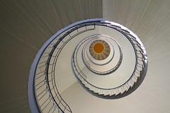C (Elbmaedchen) Tags: staircase bremen escaleras escaliers treppenhaus treppenauge verwaltungsschule doventor hochschulefrffentlicheverwaltung