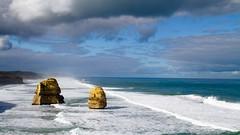 (2 of) 12 apostles (Shahrul (HuatZai)) Tags: wonder seaside landscape 12apostles greatoceanroad australia