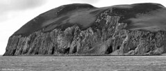 Scotland West Highlands Kintyre sea caves Davaar island 3 July 2016 by Anne Mackay (Anne MacKay images of interest & wonder) Tags: scotland west highlands sea caves cliffs davaar island monochrome blackandwhite mountain landscape xs1 3 july 2016 picture by anne mackay kintyre