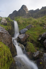 Pillar Rock (Nick Landells) Tags: pillar pillarrock pillarcove pillarcovebeck beck stream waterfall crag crags butress lakedistrict