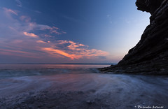 """""""Batitude"""" (pascaleforest) Tags: water eau paysage coucherdusoleil sunset cloud sky landscape passion lanseauxamrindiens gaspsie parcforillon"""