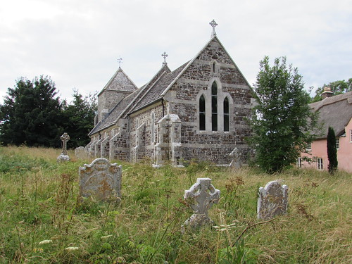 Coombe Keynes: Church of the Holy Rood (Dorset)