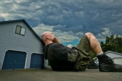 80 Ft (Drummy ) Tags: big small house manipulation self size sleepy imagination