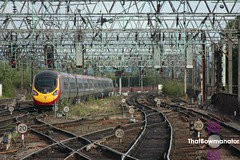 Leaving for the Capital (Luke Bowman's photography) Tags: virgin trains vt alstom class 390 pendolino manchester piccadilly