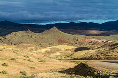 Highlighted Hills (KeithCrabtree1) Tags: sunrise oregon spring park landscape paintedhills johndayfossilbeds 2016p2