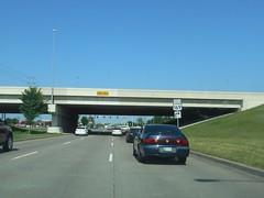 Tulsa, OK- 11th St. (jerseyman65) Tags: 2015okmous400 oklahoma freeways roads routes signs shields guidesigns travel bridges