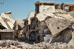 Assad had left his signature (Take a look on Syria without propaganda) Tags: damascus doma dimashqi destruction displacement douma documentary displaced die revolution regime rights rebels        syria shelling outdoor syrian save children childhood bombing war weabons assad   freedom