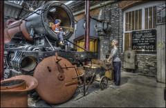 Swindon Steam Museum 7 (Darwinsgift) Tags: swindon steam museum great western railway hdr waxworks photomatix history trains nikon d810 multiple bracketed exposure