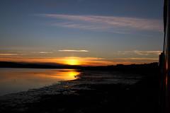 Sunset on the Teign Estuary (Jacob Tyne) Tags: sunset river teign estuary devon the riviera line great western mainline teignmouth