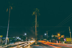 Zertuche (34/365) (pedrobueno_cruz) Tags: nikon night street lights lines palm tree home urban colors d7200 explored 365 challenge photography photographer sky dark people cars ensenada méxico valle dorado