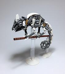 LEGO Mech Chameleon-01 (ToyForce 120) Tags: lego robot robots mecha mech mechanic legomech legomoc